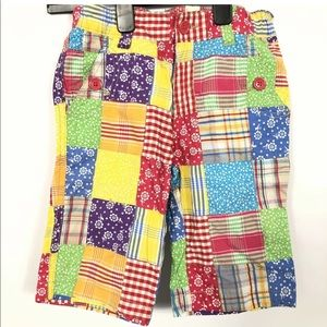 ❤️The Childrens Place Patchwork Floral pants